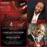 Black & Red Sagittarius Affair